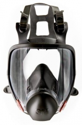 3M6800 - Full Face Respirator - Click for more info
