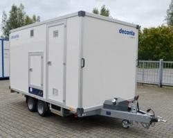 Deconta C5000A Decontamination Trailer