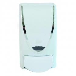 Deb White Chrome Border 1L Dispenser