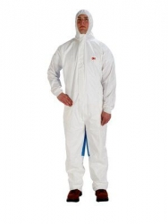 3M 4535 Coverall Type 5/6 White/Blue