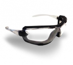 PRO CHOICE 9070 - Ambush Clear Spec Foam Bound Glasses