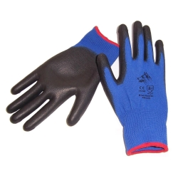 Stealth Blue Heeler Glove PU Palm