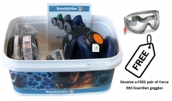 Sundstrom Asbestos Kit with Goggle Promo - Click for more info