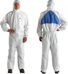 3M UU0015015 - 4540+ Coverall Type5/6 White/Blue M